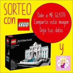Sorteo Fontana de Trevi con LEGO