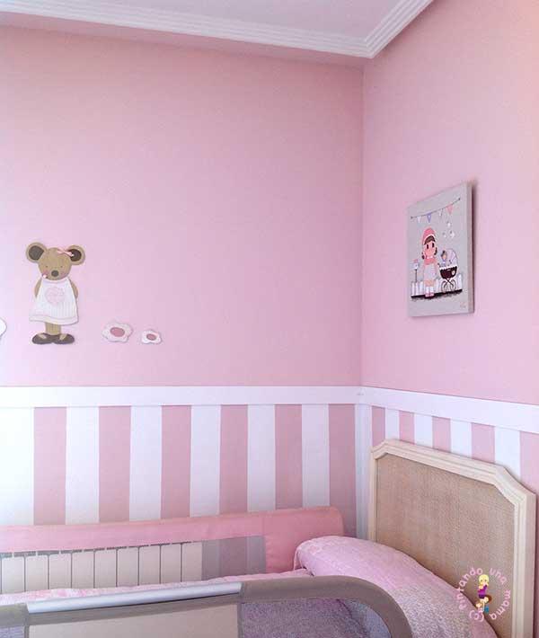 Ideas deco para una habitaci n de ensue o pintando una for Comprar losetas de vinilo autoadhesivas