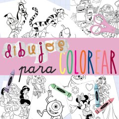 Dibujos Gratis para Colorear de Disney