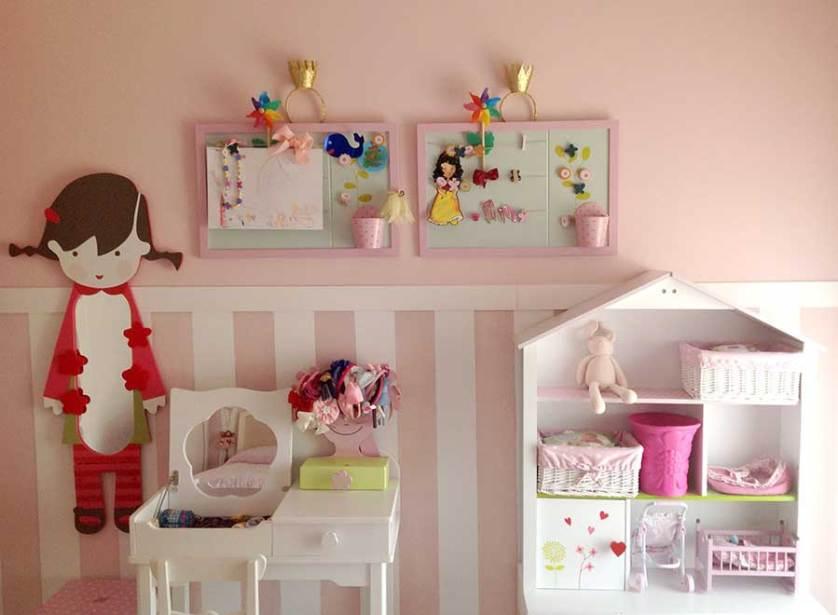 Ideas deco para una habitaci n de ensue o pintando una - Muebles almacenaje ninos ...