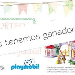Ganadora Gran Palacio de Princesas de Playmobil