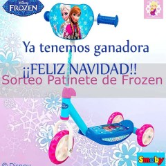 ¡¡Feliz Navidad!!: Patinete de Frozen