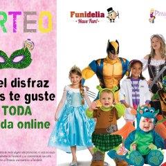 Sorteo Carnaval Funidelia con Pintando Una Mamá