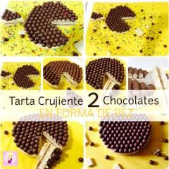 Tarta Rápida Dos Chocolates en Forma de Pez