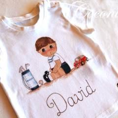 Camisetas Pintadas a Mano para Niños MiCoconic