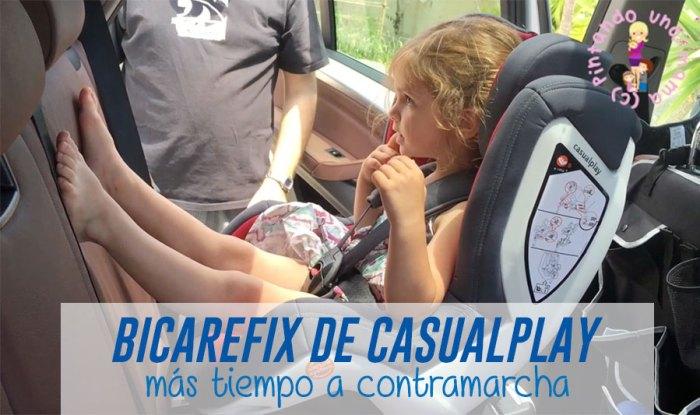 BicareFix Casualplay Silla de Coche a Contramarcha