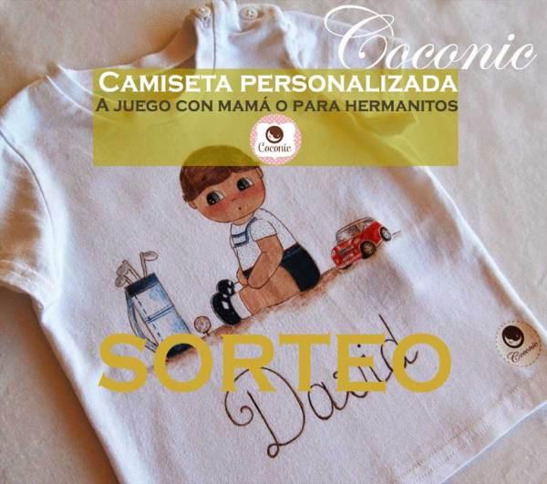 e8af731e4ea Sorteo Camisetas Personalizadas con MiCoconic - Pintando una mamá ...