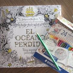 Libros de Colorear para Adultos: El Océano Perdido de Johanna Basford