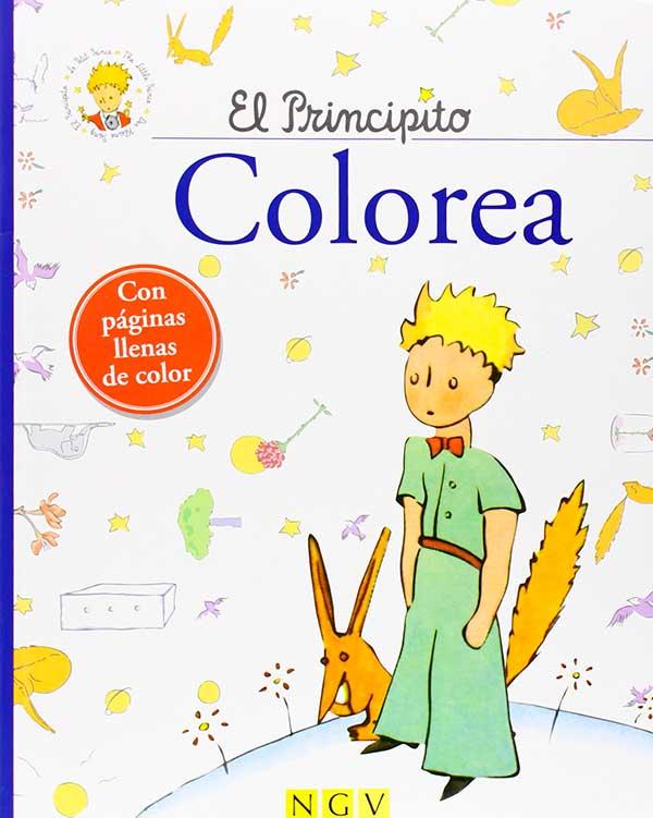 el_principito_para_colorear