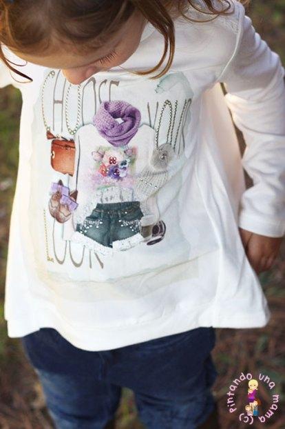 outfit-camiseta-nina-mayoral