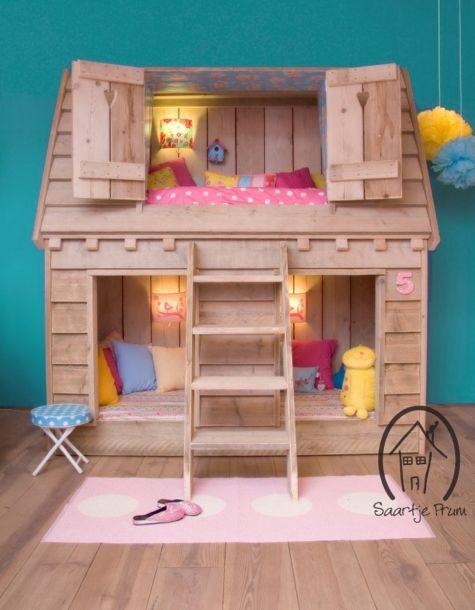 Casas Cama para Habitaciones Infantiles