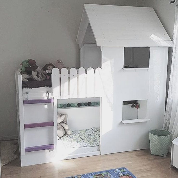 casas cama para infantiles