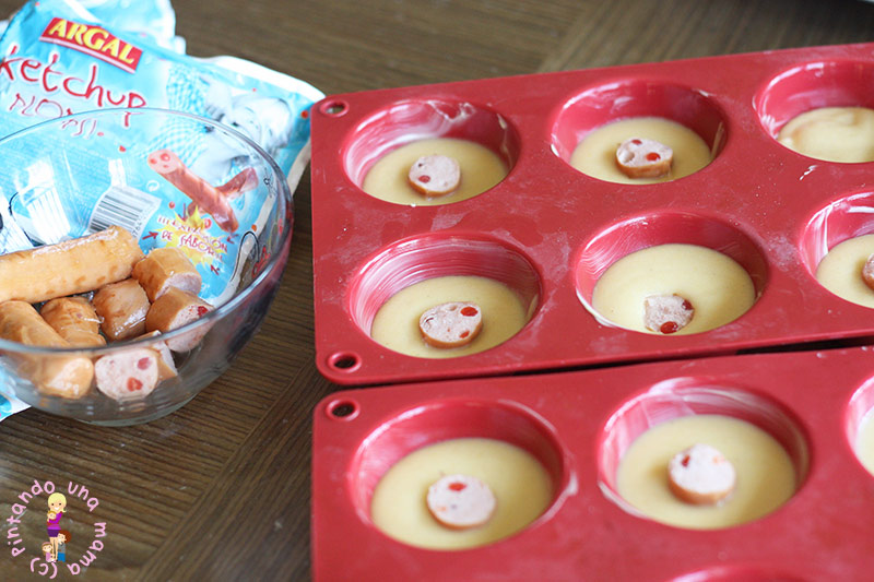 muffins-de-slachichas-ketchup