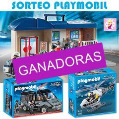 Ganadores Sorteo Playmobil Policía
