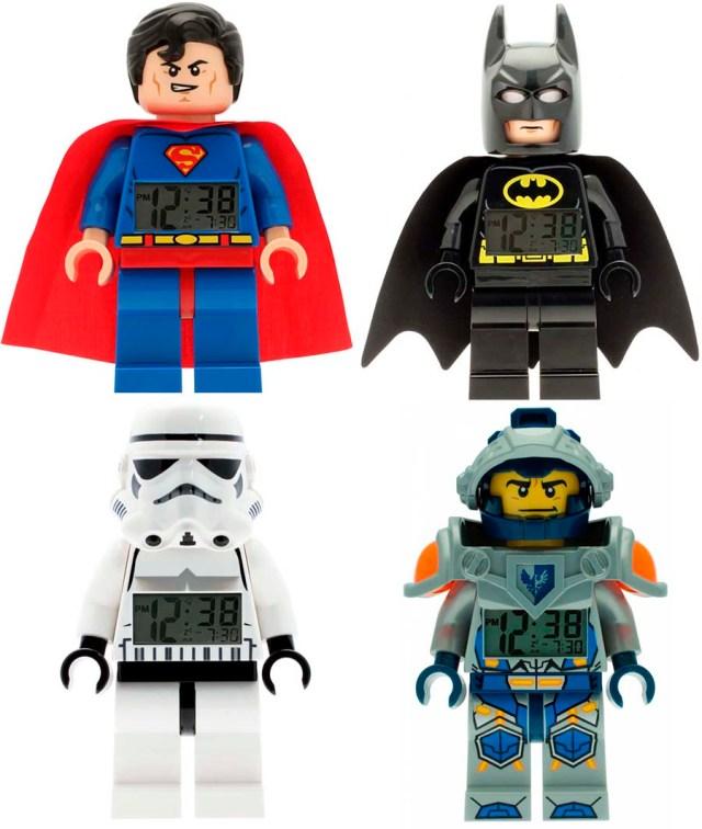 Reloj Despertador Lego Watches de Superhéroes para Niños | Pintando ...
