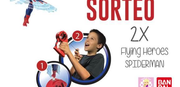 Flying Heroes – Spiderman Volador
