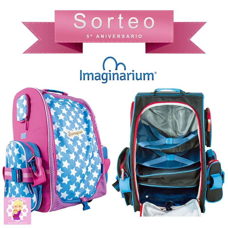 40c00d707 Tenéis la oportunidad de conseguir una de estas maletas para niños este  magífico sorteo de Quinto Aniversario gracias a Imaginarium, ¿os apetece  participar?