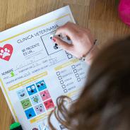 Jugar a veterinarios con imprimible gratis