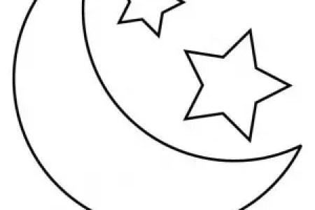 best Dibujos De Sol Luna Y Estrellas Para Colorear image collection