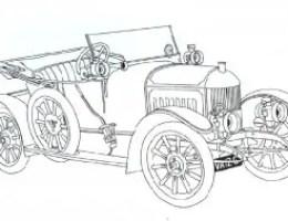 Dibujos De Coches Hot Wheels Para Colorear On Log Wall