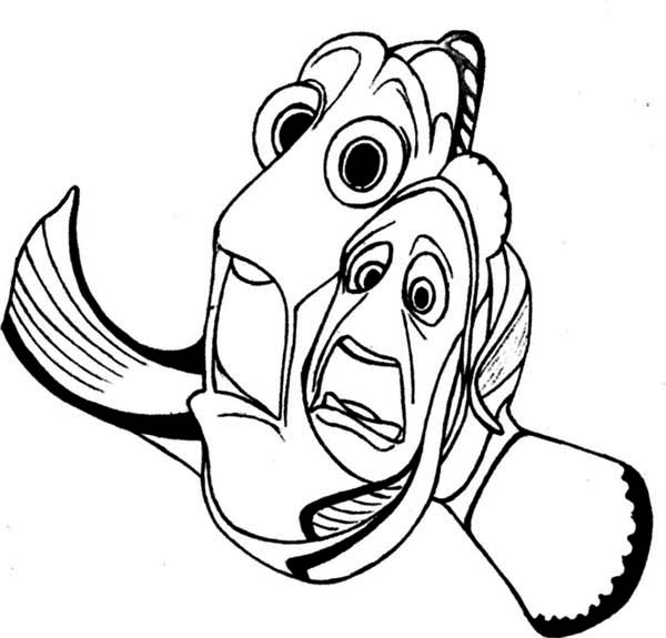 free coloring pages of dory and nemo