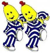 Desenhos para colorir Bananas de Pijamas 01
