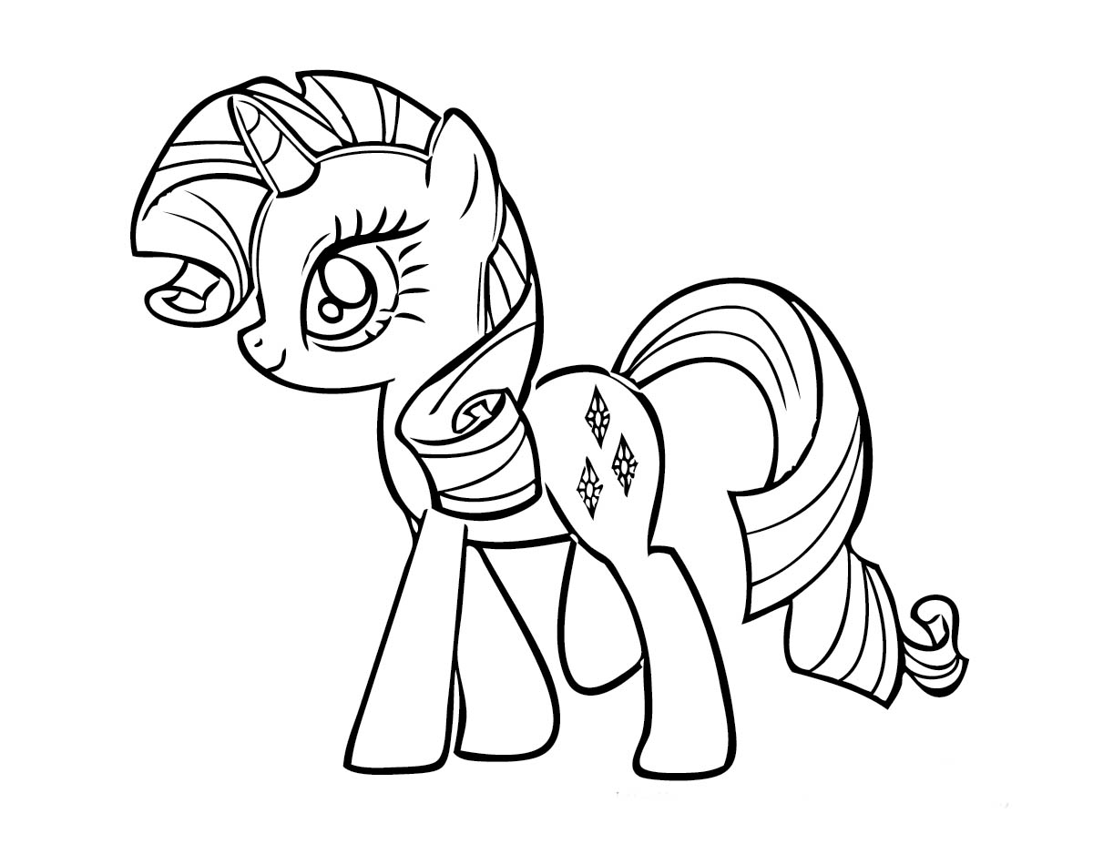 Desenhos Para Colorir My Little Pony