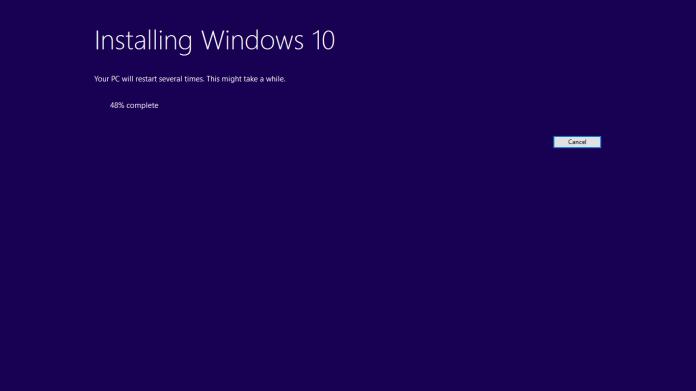Cara Cepat Upgrade Windows 10 dengan File ISO