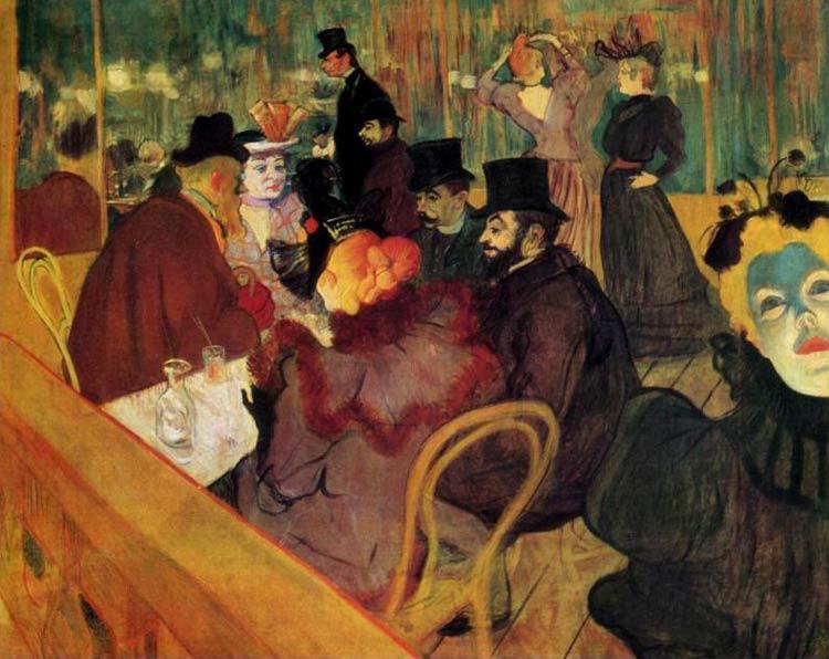 Vida bohemia en el Moulin Rouge