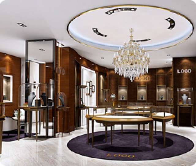 Jewellery Store Design Ideas With Jewelry Showcase