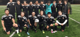 Men's club soccer team wins NWC title