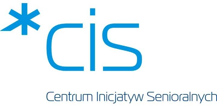 Logo poznańskiego Centrum Inicjatyw Senioralnych
