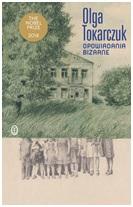 """Okładka książki Olgi Tokarczuk pt. """"Opowiadania bizarne"""""""