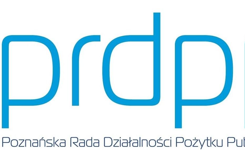 Logo Poznańskiej Rady Działalności Pożytku Publicznego