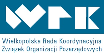 Logo Wielkopolskiej Rady Koordynacyjnej Związku Organizacji Pozarządowych