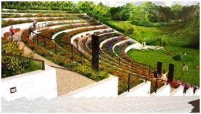 Wizualizacja ogrodu miododajnego na Cytadeli