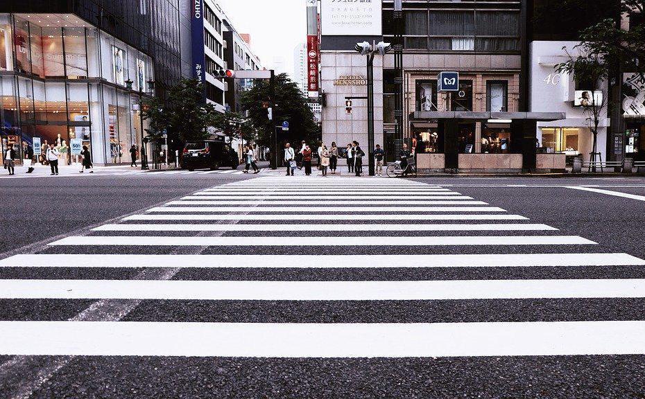 Zdjęcie, przejście dla pieszych