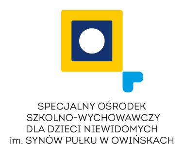 Logo Specjalnego Ośrodka Szkolno-Wychowawczego dla dzieci Niewidomych w Owińskach