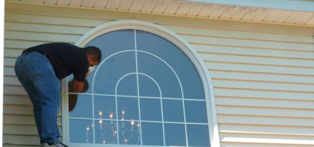 Arched Window Pane