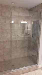 What is a shower screen