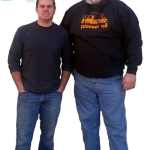 Your friendly Pioneer Glass staff: Jake Barr (L) and David Wilson (R). The best staff we could ask for!