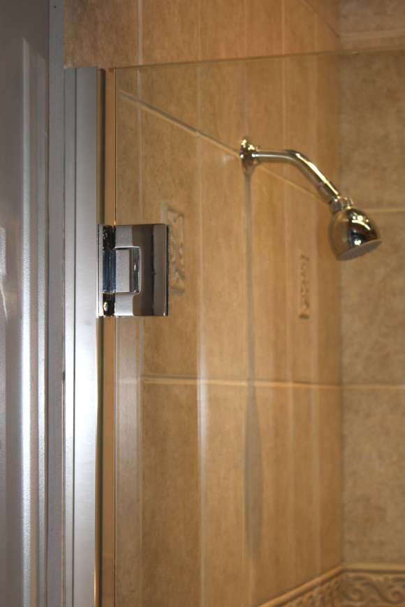Shower Enclosure, TruFit Series - Chrome - Detail