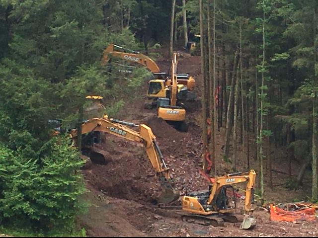 Pipeline Construction by Pioneer Construction Company out of Honesdale, PA Serving all of Pennsylvania.