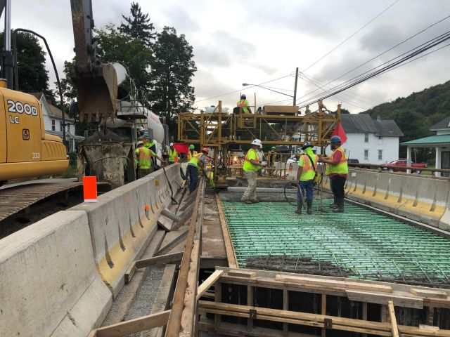 Bridge Construction by Pioneer Construction Company Inc. located in Honesdale, PA serving all of Pennsylvania