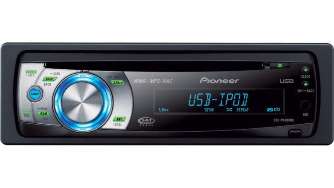 dehp4000ub  cd receiver with oel display usb direct