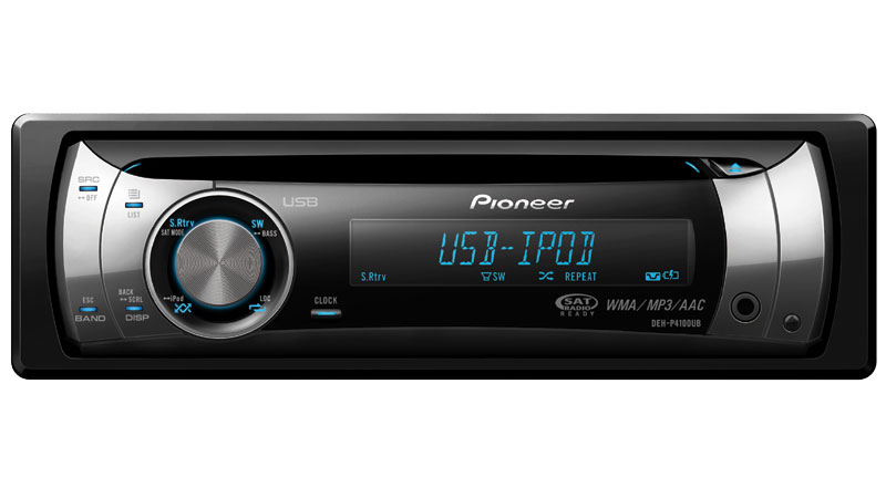 DEH-P4100UB - CD Receiver with OEL Display, USB Direct ...