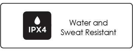 imagem ipx4 resistente à água