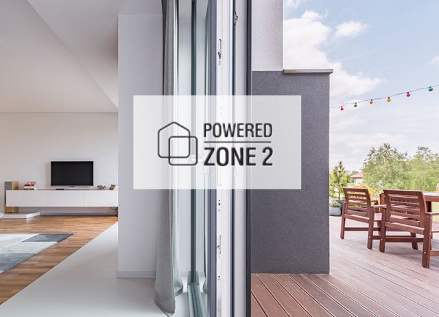 Powered Zone 2 with Dedicated DAC