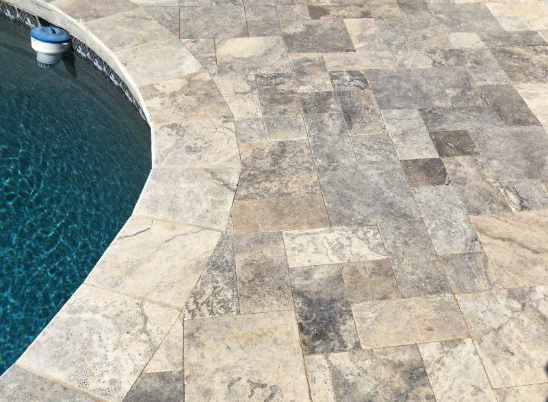 pool deck repair replacement