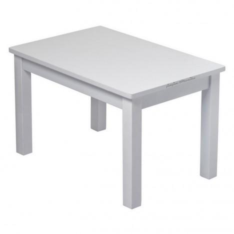 ma premiere table basse petit enfant bois massif gris bebe montessori
